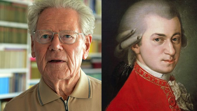 """what mozart taught hans kung about god De mortuis nihil nisi bonum. Loosely translated as """"do not speak ill of the dead,"""" it remains good advice, particularly when reflecting on the life of someone with whom you disagreed about many things. The phrase certainly passed through my mind when I read of the death of the Swiss theologian, Father Hans Küng."""