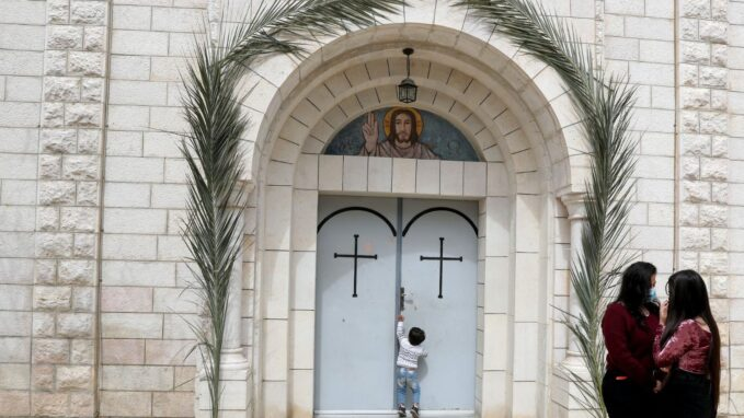 holy land latin patriarch launches collection for gazan christians By Devin Watkins