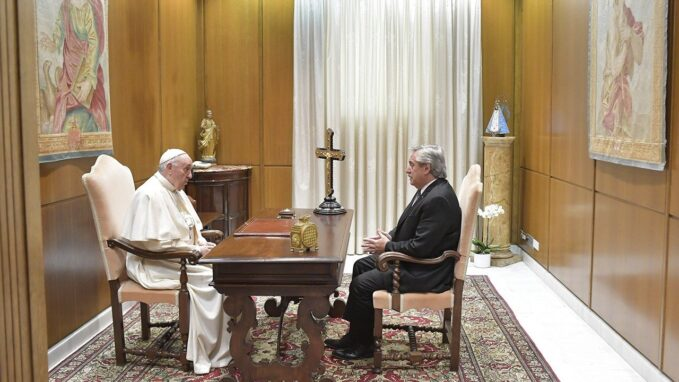 pope francis meets with argentinas president By Vatican News staff writer