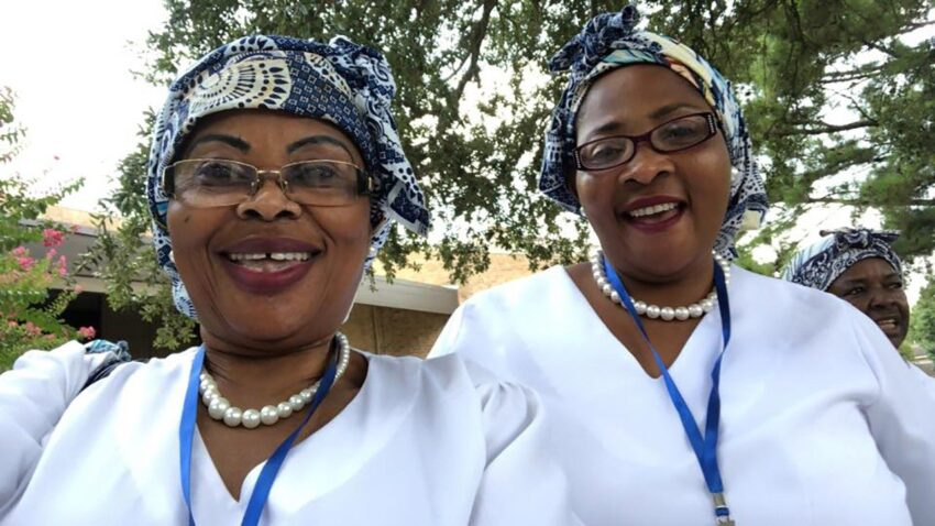 catholic women association of cameroon committed to serving the church Donatien Nyembo Sj, Paule Valérie Mendogo and Vatican News English Africa Service.