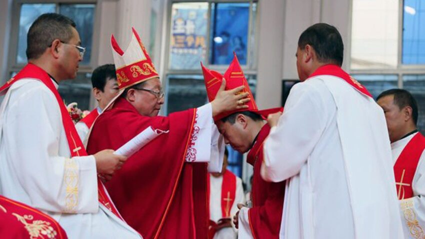china new co adjutor bishop consecrated for pingliang By Vatican News